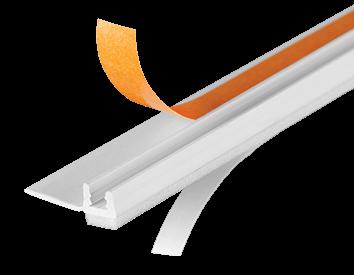 Профиль примыкающий оконный ПВХ СТАНДАРТ<span>самоклеящийся</span>