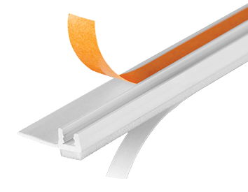 Профиль примыкающий оконный ПВХ СТАНДАРТ <span>самоклеящийся</span>