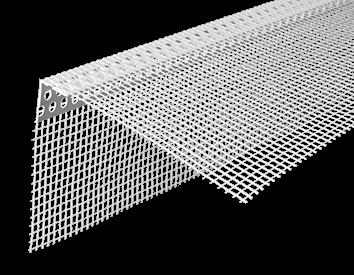 Corner bead PVC <span>with mesh</span>